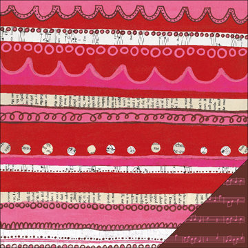 KI Memories - Love Elsie - Betty Collection - Double Sided Paper - Betty Petticoat, BRAND NEW