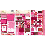 KI Memories - Love Elsie - Betty Collection - Cardstock Stickers - Betty Trinkets, CLEARANCE