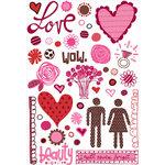 KI Memories - Love Elsie - Betty Collection - Rub-Ons - Betty Doodles, BRAND NEW