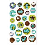 KI Memories - Love Elsie - Toby Collection - Gel Stickers - Toby Round Gels