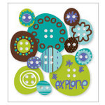 KI Memories - Love Elsie - Toby Collection - Chipboard Buttons - Toby Rounds, BRAND NEW
