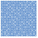 KI Memories - Pop Culture Collection - Lace Cardstock - Disco Ball - Boogieboard - Blue
