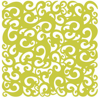 KI Memories - Pop Culture Collection - Lace Cardstock - Perm - Sublime - Green