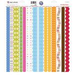 KI Memories - Pop Culture Collection - Cardstock Stickers - Borderlines - Multi
