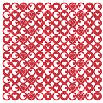 KI Memories - Glitter Lace Cardstock - Heartbeat Hottie, CLEARANCE