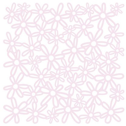 KI Memories - Glitter Lace Cardstock - Bouquet Soft