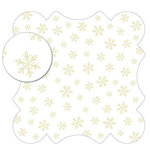 KI Memories - Sheer Delights - 12 x 12 Die Cut Plastic - Delicate, CLEARANCE
