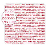 KI Memories - Sheer Delights - 12 x 12 Die Cut Plastic - Jolly Type, CLEARANCE