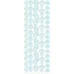 KI Memories - Enchanting Collection - Glitter Stickers - Borders