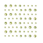 KI Memories - Enchanting Collection - Bling - Rhinestone Stickers - Lime Jewels