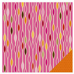 KI Memories - Groovy Collection - 12 x 12 Double Sided Paper - Bead Curtain