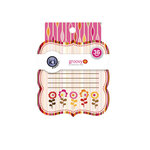 KI Memories - Groovy Collection - Journaling Tag Pad