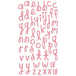KI Memories - Paisley Parade Collection - Alphabet Glitter Stickers - Paisley Parade