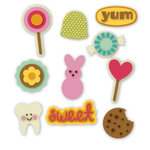 KI Memories - Sweet Life Collection - Rubber Stickers - Softies