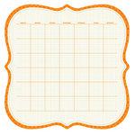 KI Memories - Sew Cute Calendars Collection - 12 x 12 Double Sided Die Cut Paper - Citrus