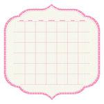 KI Memories - Sew Cute Calendars Collection - 12 x 12 Double Sided Die Cut Paper - Stiletto