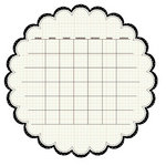 KI Memories - Sew Cute Calendars Collection - 12 x 12 Double Sided Die Cut Paper - Inkjet
