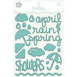 KI Memories - Frosting - 3 Dimensional Puffy Stickers - April