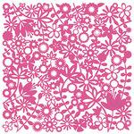 KI Memories - Glitter Lace Cardstock - Flower Child Pinata, CLEARANCE