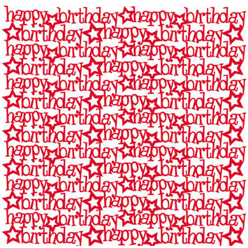 KI Memories - Glitter Lace Cardstock - Happy Fire, CLEARANCE