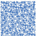 KI Memories - Glitter Lace Cardstock - Stars Boogieboard, CLEARANCE