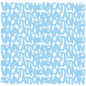 KI Memories - Glitter Lace Cardstock - Vacation Bluebird, CLEARANCE