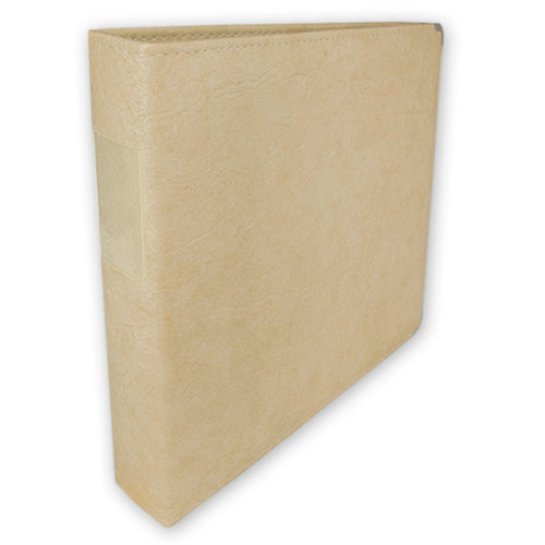 Classic 3 Ring Memory Albums - 12 x 12 - Antique Ivory