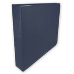 Classic 3 Ring Memory Album - 12 x 12 - Nautical Navy
