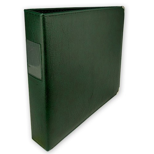 Classic 3 Ring Memory Album - 12 x 12 - Forest Green