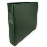 Classic 3 Ring Memory Albums - 12 x 12 - Forest Green