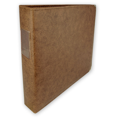 Umbrella Crafts - 3 Ring Memory Albums - 12 x 12 - Pecan