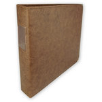 Keeping Memories Alive 3 Ring Memory Albums - 12 x 12 - Pecan