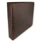 Classic 3 Ring Memory Album - 12 x 12 - Walnut