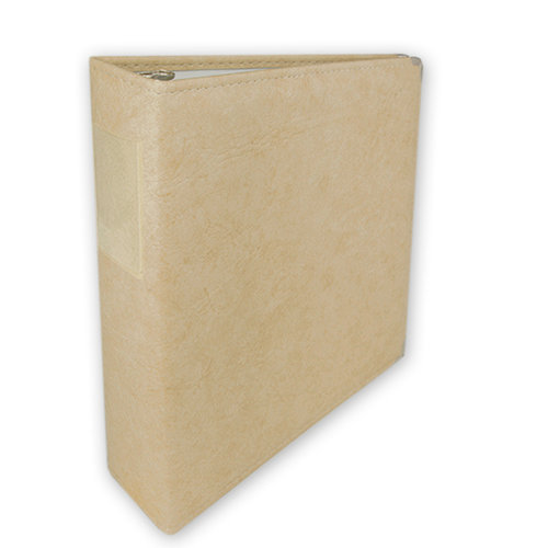 Umbrella Crafts - 3 Ring Memory Albums - 8.5 x 11 - Antique Ivory