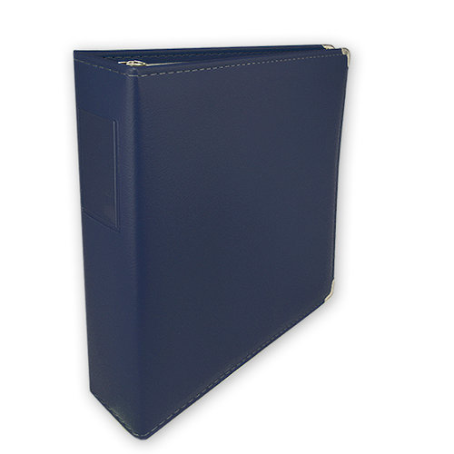 Keeping Memories Alive 3 Ring Memory Albums - 8.5 x 11 - Nautical Navy
