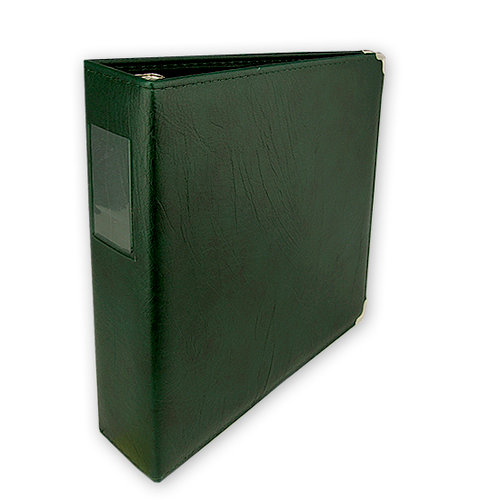 Umbrella Crafts - 3 Ring Memory Albums - 8.5 x 11 - Forest Green
