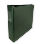 Classic 3 Ring Memory Album - 8.5 x 11 - Forest Green
