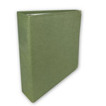 Umbrella Crafts - 3 Ring Memory Albums - 8.5 x 11 - Sage Green