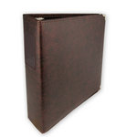 Classic 3 Ring Memory Album - 85 x 11 - Walnut
