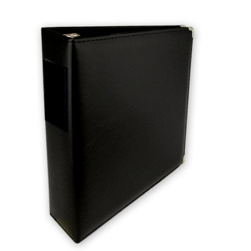 Classic 3 Ring Memory Album - 85 x 11 - Black