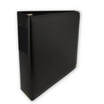 Classic 3 Ring Memory Albums - 8.5 x 11 - Black