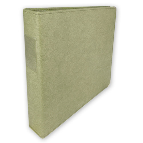 Umbrella Crafts - 3 Ring Memory Albums - 12 x 12 - Sage Green