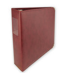 Umbrella Crafts - 3 Ring Memory Albums - 8.5 x 11 - Maroon