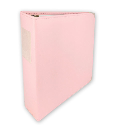 Umbrella Crafts - 3 Ring Memory Albums - 8.5x11 - Pale Pink