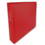 Umbrella Crafts - 3 Ring Memory Albums - 12 x 12 - Fire Engine Red