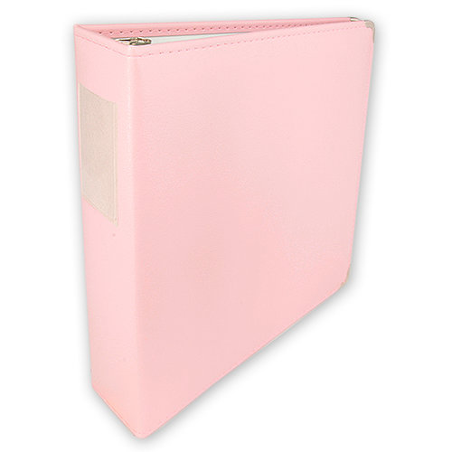 Umbrella Crafts - 3 Ring Memory Albums - 12 x 12 - Pale Pink