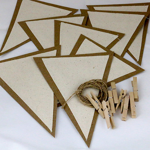 Ken Oliver - Canvas Corp - Junky Paper Pennants