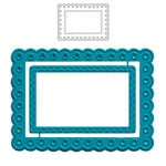 Maya Road - ATC Die - Scalloped Frame
