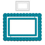Maya Road Scalloped Frame ATC Die