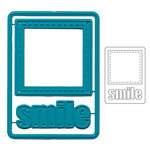 Maya Road Smile Frame ATC Die